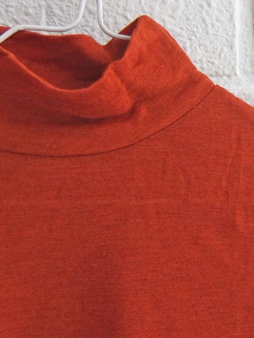 スペイン子供服 nice things mini ナイスシングス ウール混タートル長袖シャツ