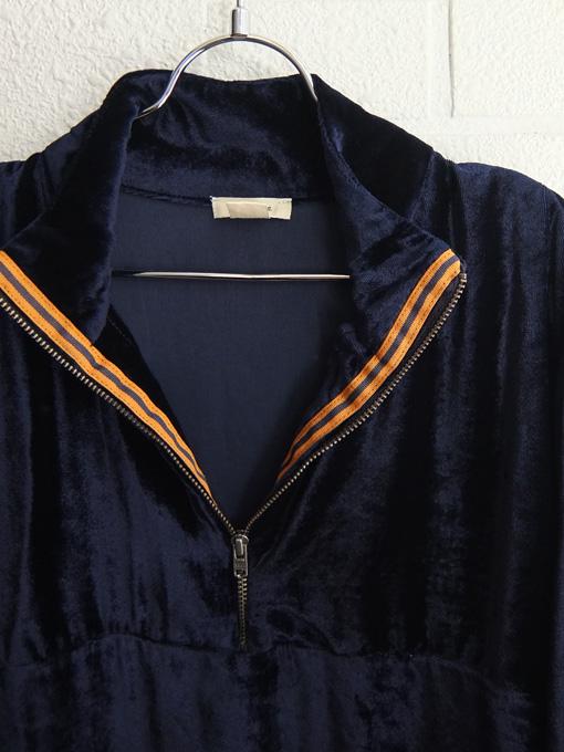 ベルギー子供服 bellerose kids ガールズ ベロアハイネックワンピース