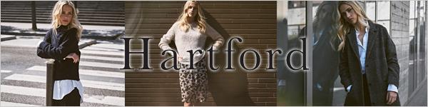フランス大人服 大人服ブランド HARTFORD ハートフォード シンプルでエレガント