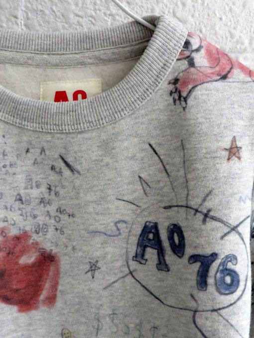 ベルギー子供服 AMERICAN OUTFITTERS アメリカンアウトフィッターズ AO76 プリントトレーナー