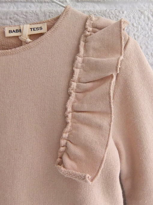 イタリア子供服 BABE&TESS ベイブアンドテス フリルトレーナー
