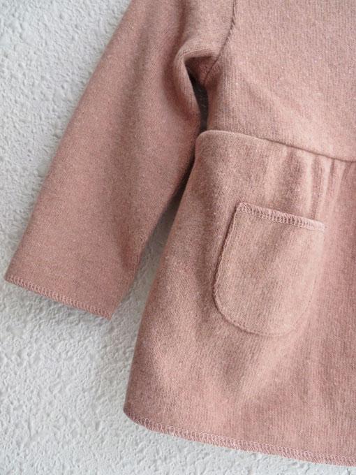 イタリア子供服 BABE&TESS ベイブアンドテス ベビーフレアスウェットカーディガン