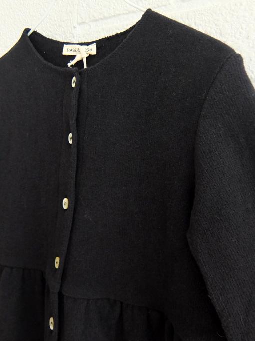 イタリア子供服 BABE&TESS ベイブアンドテス ニットコートワンピース