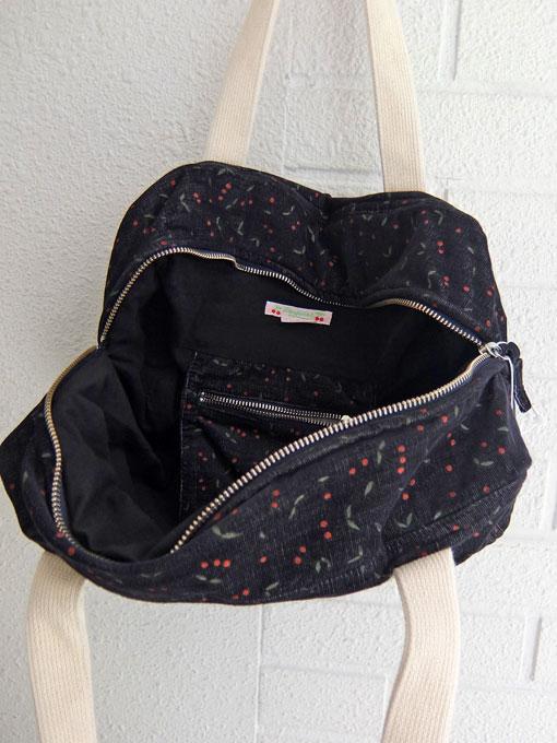 フランス子供服 bonpoint ボンポワン チェリープリントバッグ