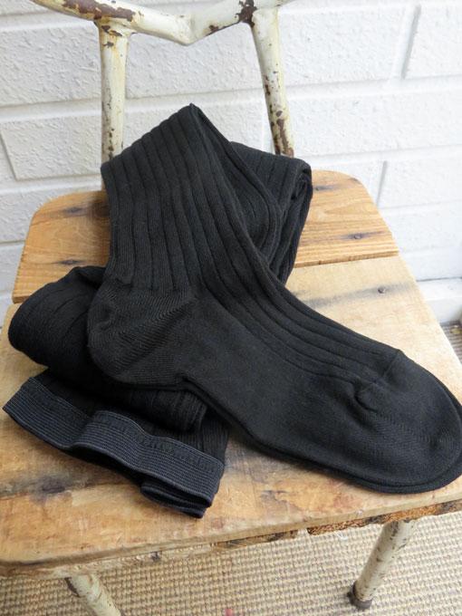 フランス老舗靴下ブランド DOREDORE ドレドレ リブタイツ