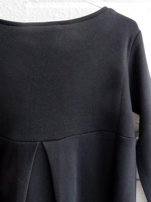 イタリア子供服 DOUUOD  ラッフルフリルジャージワンピース