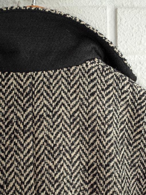 パリジェンヌに人気のフレンチカジュアルブランド soeur  2018秋冬コレクション ヘリンボーンダブルジャケット