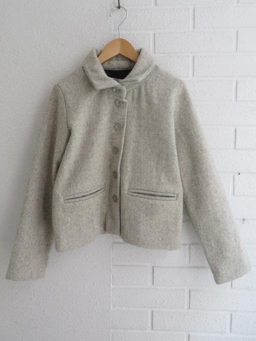 オッティ VDJ  le vestiaire de jeanne Jacket, wool  tourterelle wool drap  厚地ウールジャケット