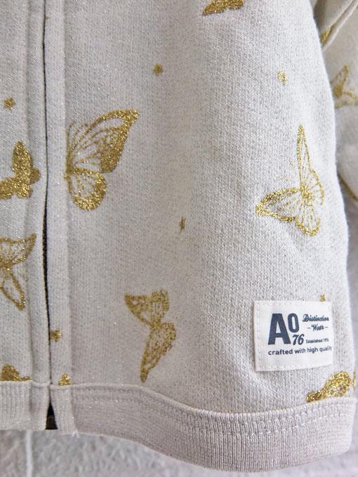 ベルギー子供服 AMERICAN OUTFITTERS アメリカンアウトフィッターズ AO76 バラフライパーカー