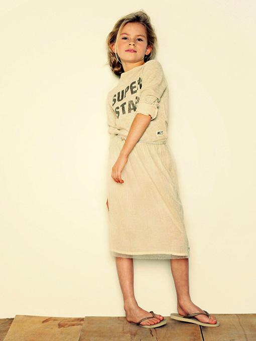 ベルギー子供服 AMERICAN OUTFITTERS アメリカンアウトフィッターズ AO76 ラメロングスカート