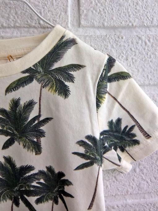 ベルギー子供服 AMERICAN OUTFITTERS アメリカンアウトフィッターズ AO76 ヤシの木プリントTシャツ