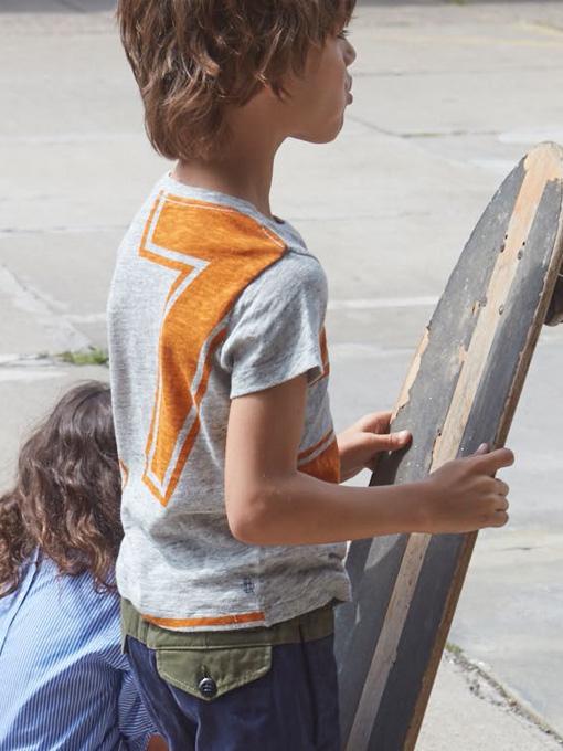 ベルギー子供服 bellerose kids ベルローズキッズ ボーイズ゙ プリントTシャツ