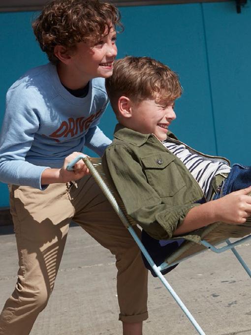 ベルギー子供服 bellerose kids ベルローズキッズ ボーイズ゙ ボーダータンクトップ