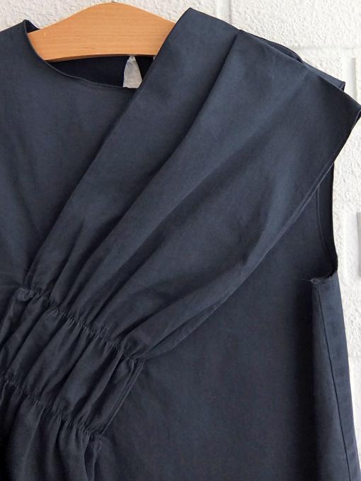 イタリア子供服 DOUUOD ノースリーブリボンワンピース