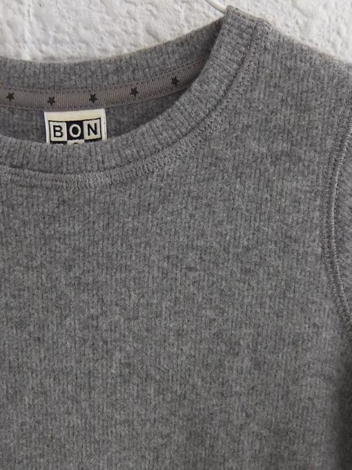 フランス子供服 BONTON 2019AW 起毛コットンアンサンブル セットスーツ