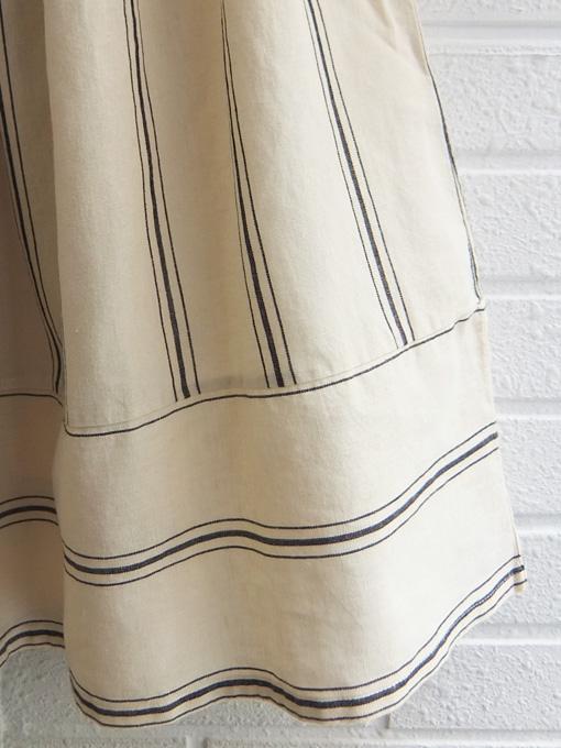 Little Creative Factory ストライプロングスカート