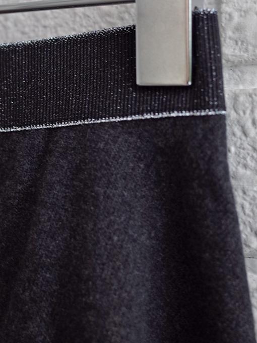 イタリア子供服 OLIVE コットンフリースフレアスカート