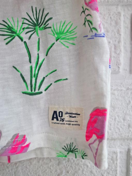 ベルギー子供服 AMERICAN OUTFITTERS アメリカンアウトフィッターズ AO76 フラミンゴ柄Tシャツ