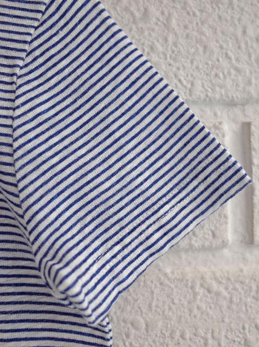 ベルギー子供服 AMERICAN OUTFITTERS アメリカンアウトフィッターズ AO76 ボーダーリネン混ポロシャツ