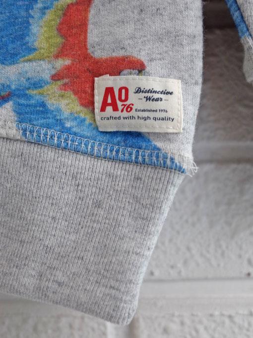 ベルギー子供服 AMERICAN OUTFITTERS アメリカンアウトフィッターズ AO76 バードプリントトレーナー