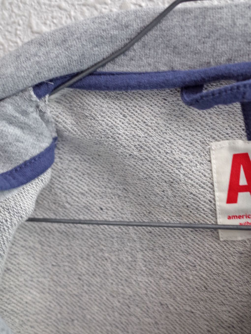ベルギー子供服 AMERICAN OUTFITTERS アメリカンアウトフィッターズ AO76 スウェットブレザー