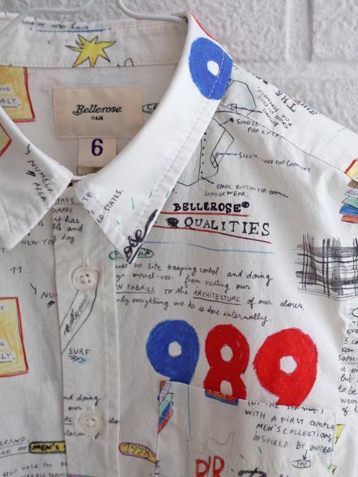 ベルギー子供服 bellerose kids ベルローズキッズ ボーイズ プリントシャツ