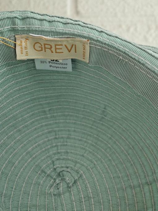 イタリア老舗帽子ブランド GREVI グレヴィ ボーイズグログランハット