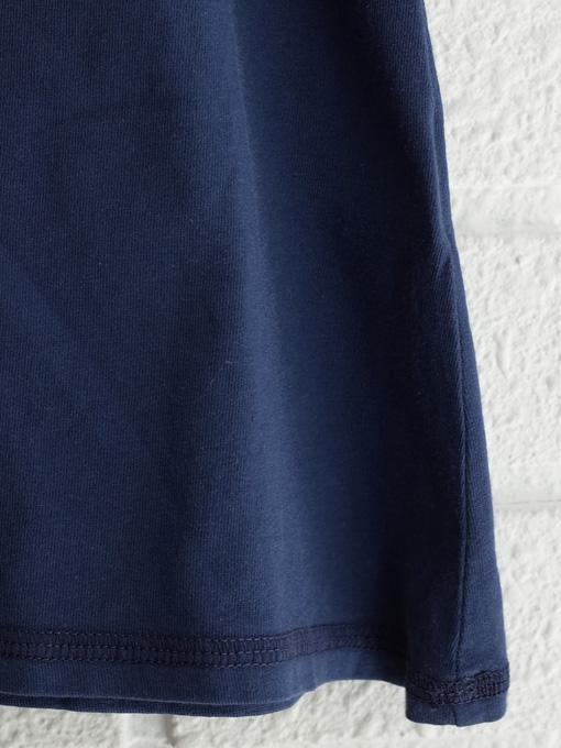 イタリア子供服 OLIVE オリーブジャージーフリル袖ワンピース