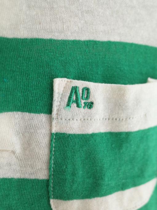 AO76 アメリカンアウトフィッターズ ボーイズ ワイドボーダーポロシャツ
