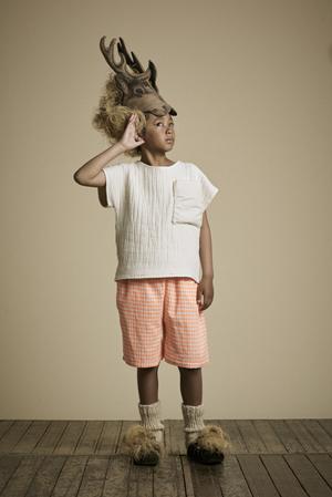 Little Creative リトルクリエイティブファクトリー キルトTシャツ