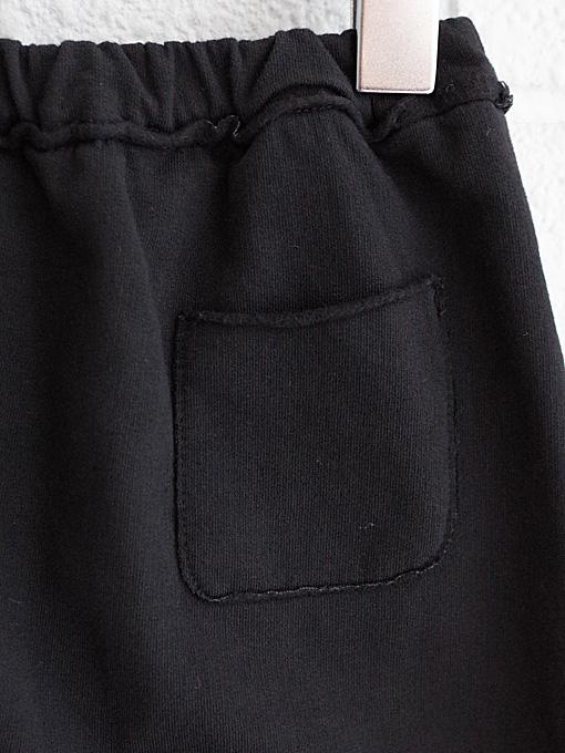 イタリア子供服 BABE&TESS 裏起毛ジャージーベビーサルエルパンツ
