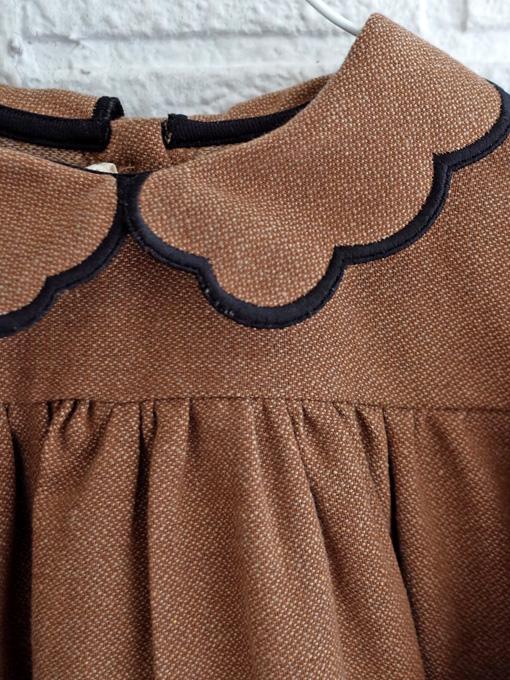 イタリア子供服 BABE&TESS 丸襟ワンピース
