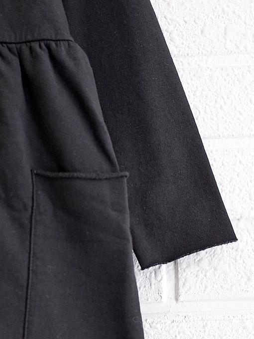 イタリア子供服 BABE&TESS 丸襟ジャージーワンピース