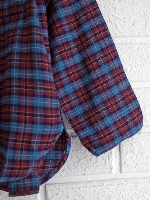 フランス子供服 BONTON ボントン ボーイズチェックチュニジアシャツ