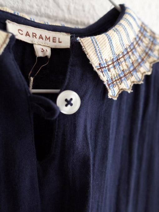 CARAMEL キャラメル イギリス子供服 コットンワンピース
