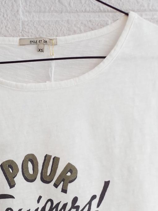 emile et ida woman プリントTシャツ