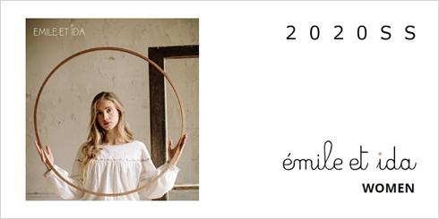 emile et ida woman 2020春夏コレクション