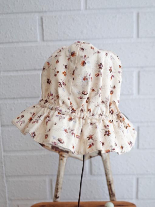 CARAMEL Marlin Sunhat, Ditsy Floral Print キャラメル 英国子供服 フラワープリント ベビークロシェ