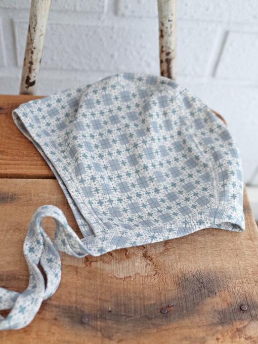 CARAMEL Trumpetfish Gifting Bonnet キャラメル 英国子供服 ベビーボンネット