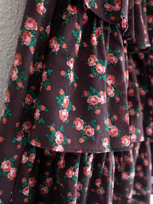 CARAMEL Flounder Skirt キャラメル 英国子供服 フラワープリントラッフルスカート