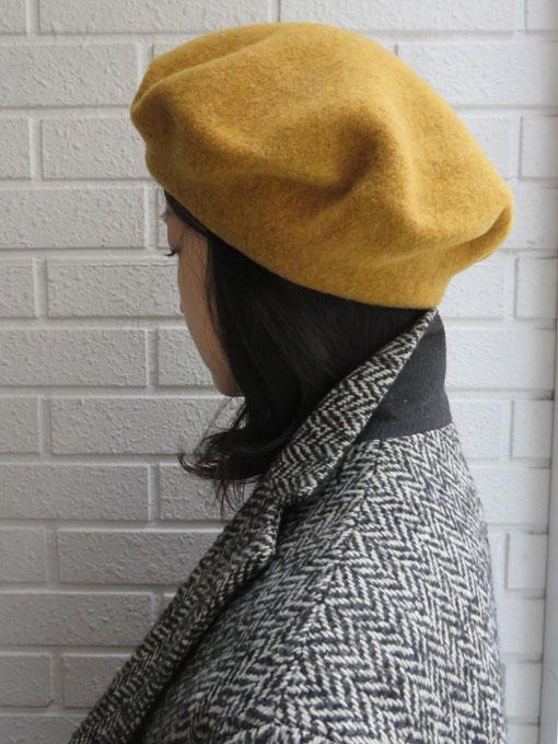 anytra アニトラ エニトラ ウールベレー帽