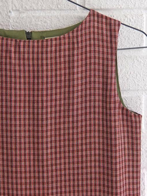 bellrose kids ベルローズキッズ 2018AW チェックジャンパースカート