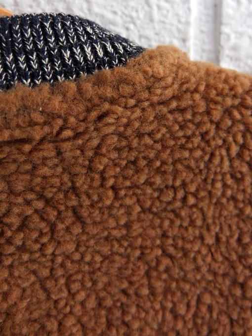 ベルギー子供服 bellerose kids ボアジップジャケット