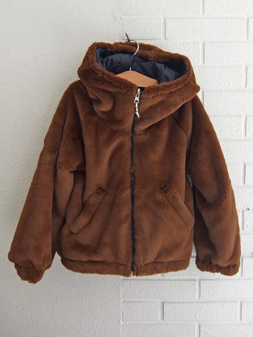 ベルギー子供服 bellerose kids リヴァーシブルフードジャケット