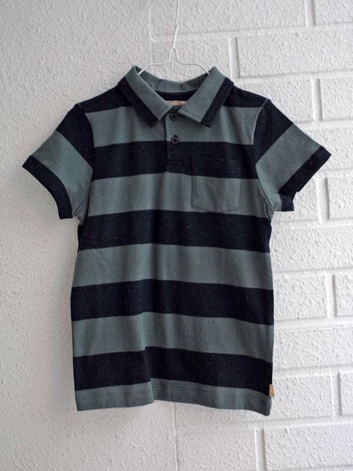 ベルギー子供服 bellerose kids ベルローズキッズ ワイドボーダーポロシャツ