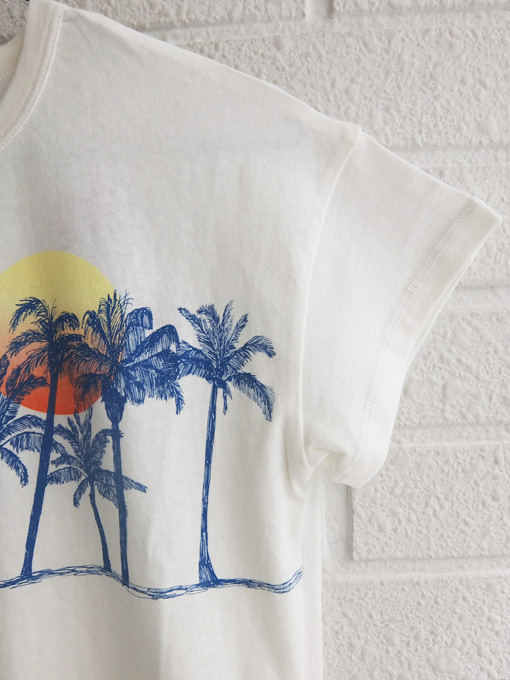 bellerose kids ベルローズキッズ プリントTシャツ