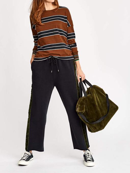ベルギー レディース bellerose woman ベルローズウーマン マルチワイドボーダーTシャツ