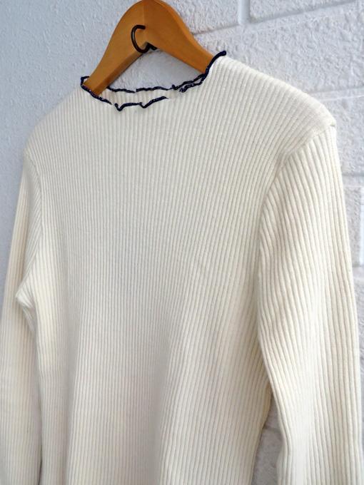 ベルギー レディース bellerose woman ベルローズウーマン リブ長袖Tシャツ