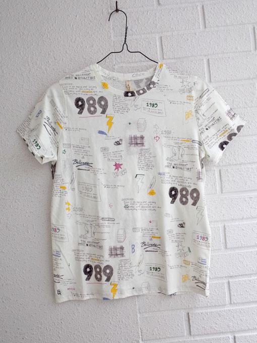 ベルギー レディース bellerose woman ベルローズウーマン アニヴァーサリープリントTシャツ