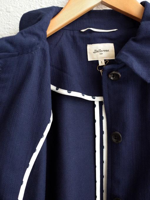 ベルギー レディース bellerose woman ベルローズウーマン コットンワイドスリーブジャケット